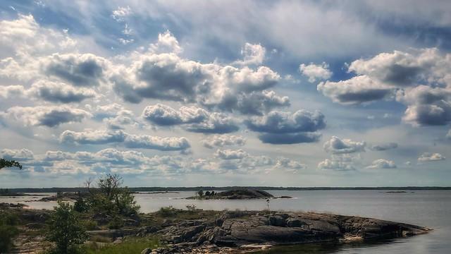 Cloudscape in the archipelago