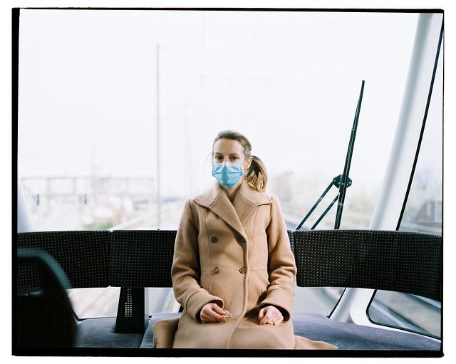 Pandemic Tram Loneliness