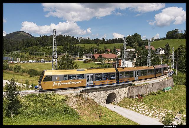 NÖVOG_MARIAZELLBAHN_Wienerbruck-Josefsberg_Niederösterreich_Österreich
