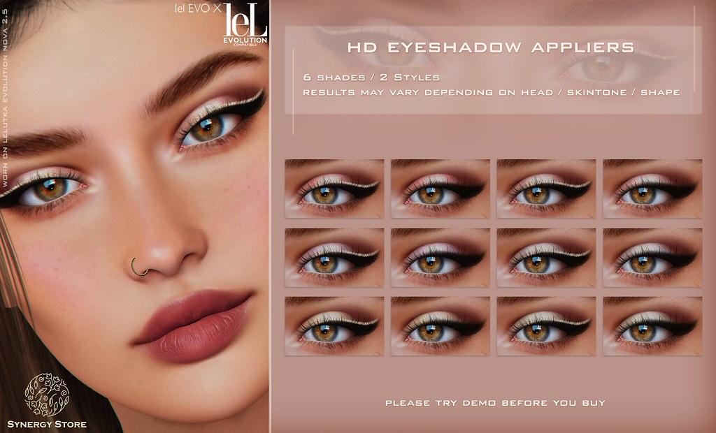 Synergy – Lelutka HD Eyeshadow Applier for EVO/EVO X heads – Alicante♥
