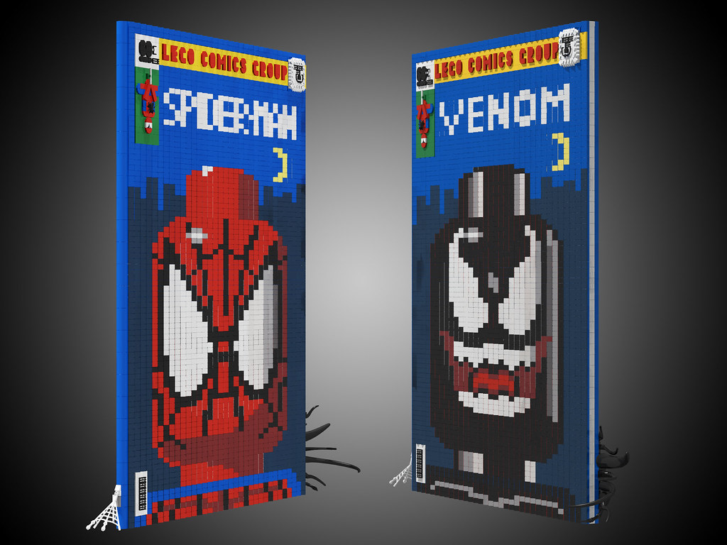 The Lenticular Spider-Man Cover sides