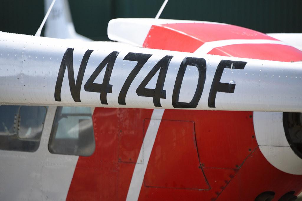 Cessna O-2A N474DF,