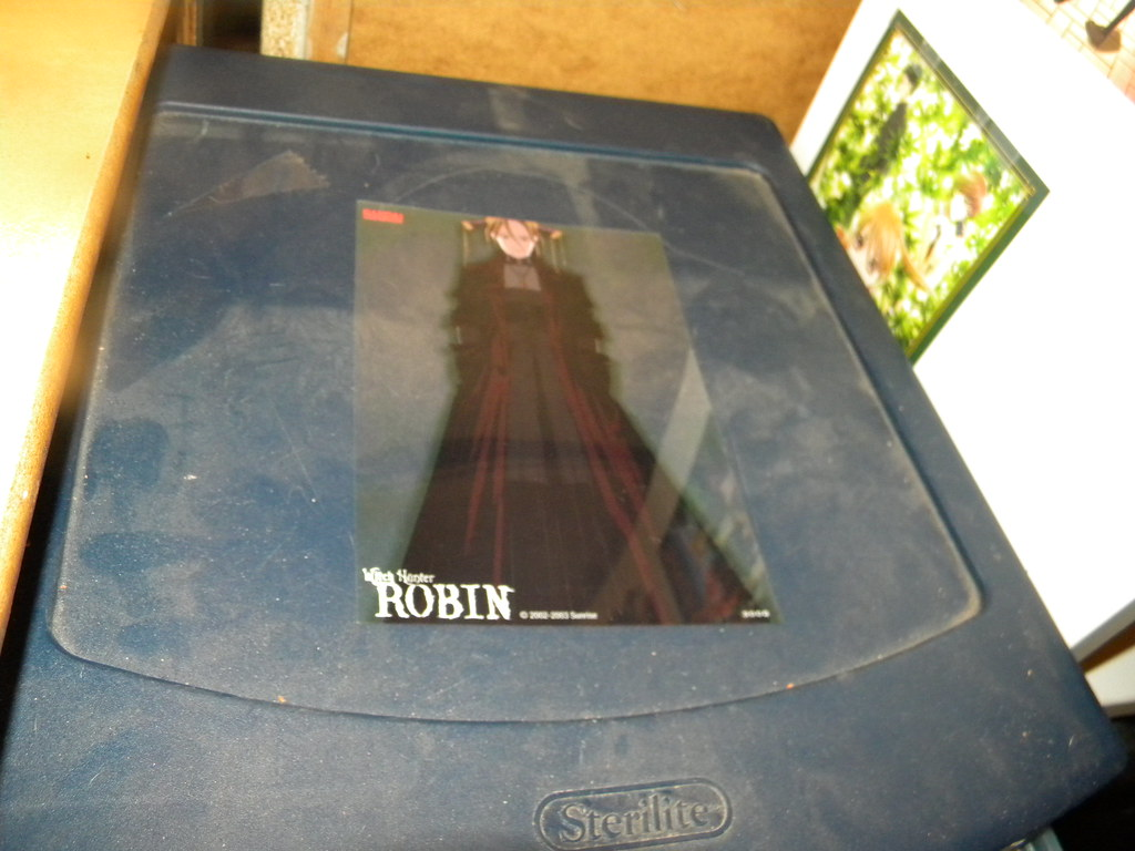 Witch Hunter Robin insert