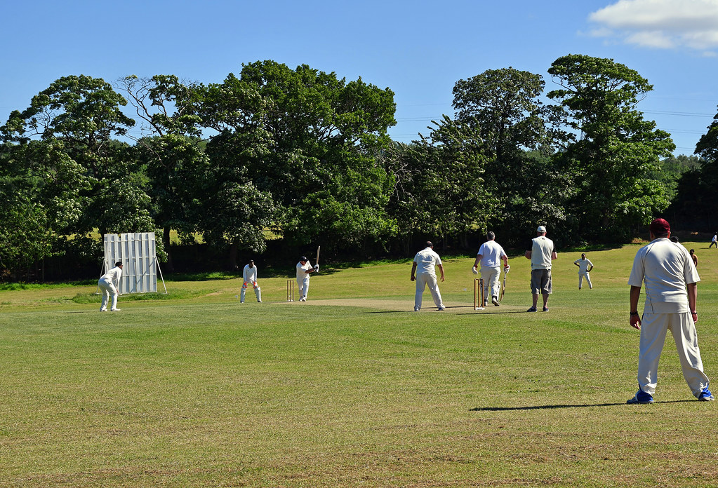 Augustinians (Woodhouse) CC: Nice clip towards the ropes