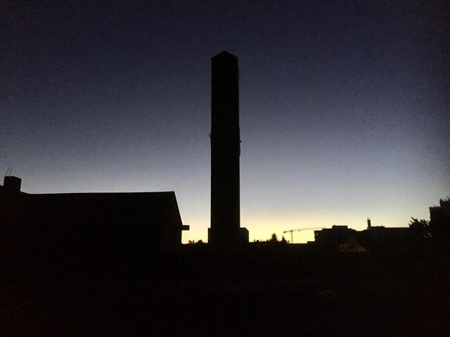 St Helena im ersten Morgenlicht
