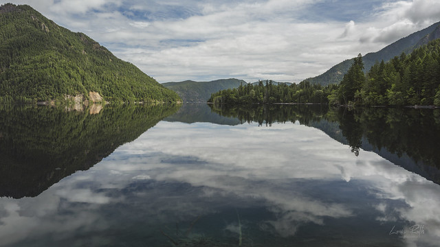 Reflections on Lake Crescent 2021