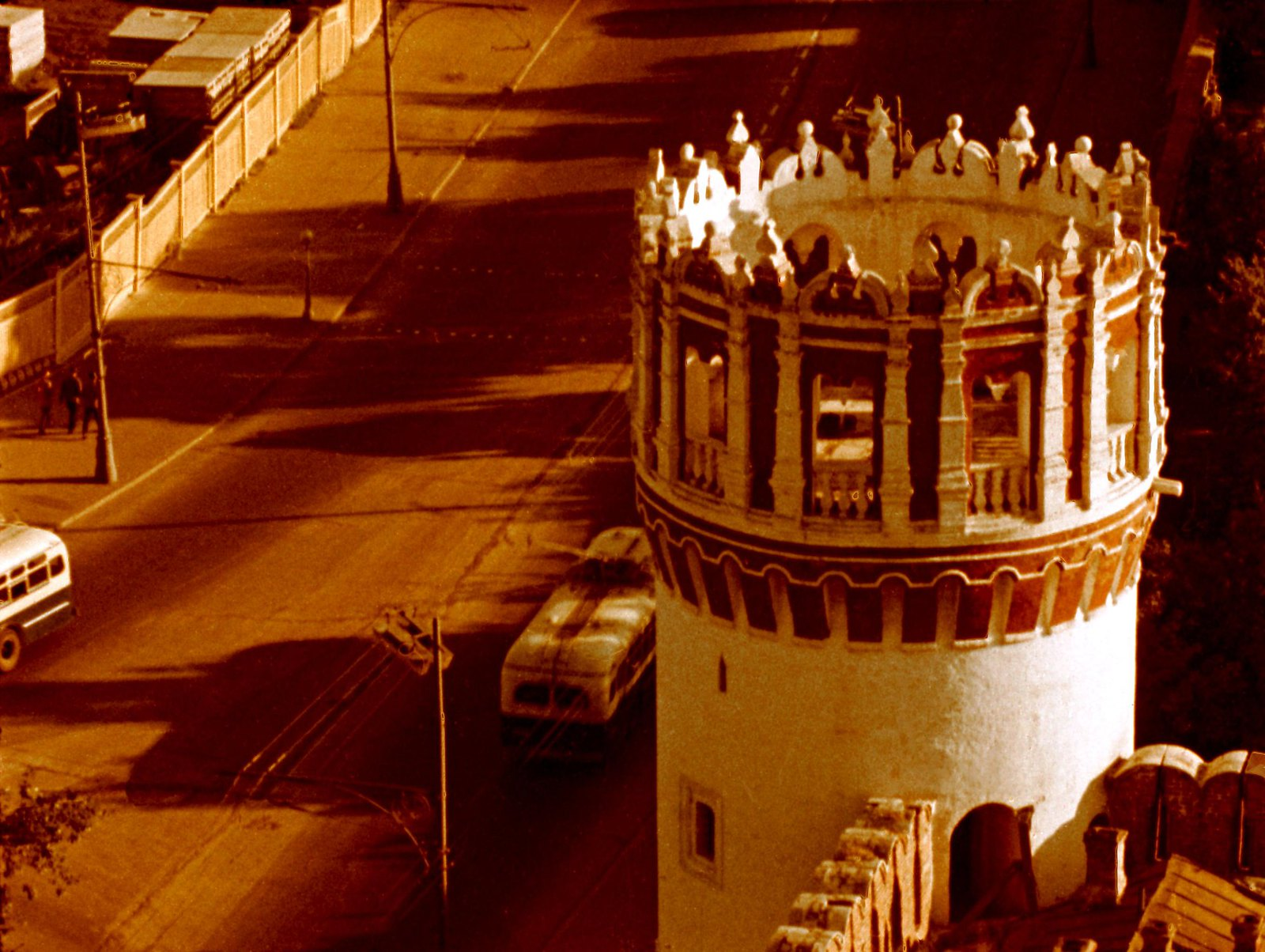 1961.  Башня Новодевичьего монастыря