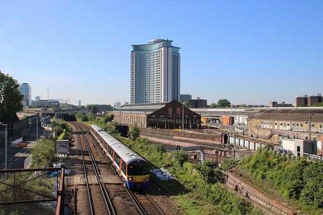 West London Line Cityscape