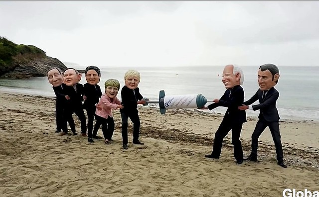 The Imperialist Nature of G7, by Yanis Iqbal