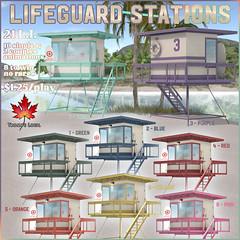 Trompe Loeil - Lifeguard Stations Gacha for The Arcade June