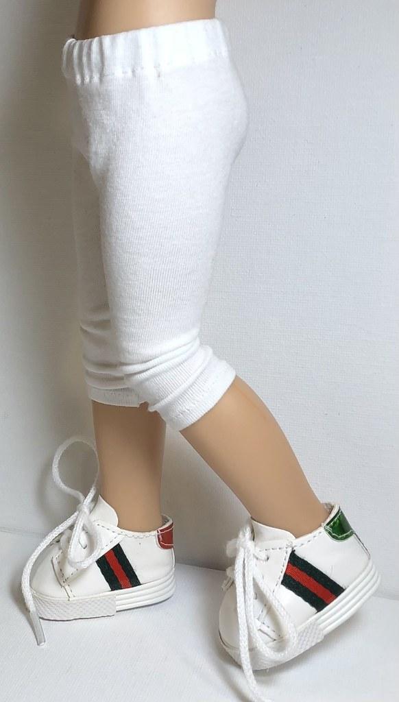 White… Leggings For Paola Reina Dolls…