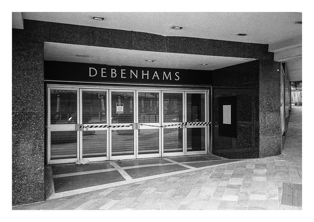 Debenhams no more