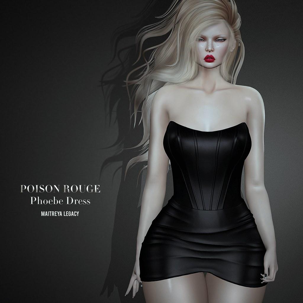 POISON ROUGE Phoebe Dress @COSMOPOLITAN