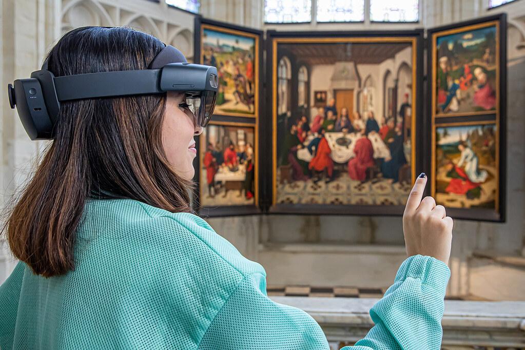 ¡Realidad virtual en la Iglesia de San Pedro!