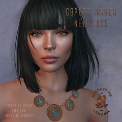 MM Copper Mines Necklace Ad
