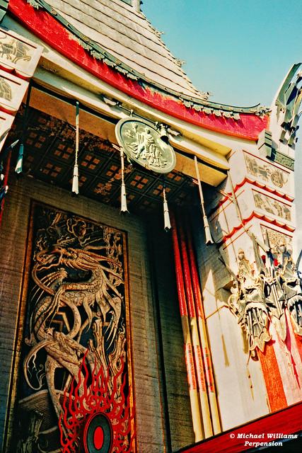 Grauman's Chinese Theatre, (Now Grauman's TLC) Entry Facade
