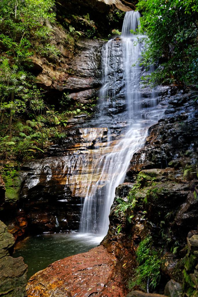Empress falls, Wentworth falls, NSW, Australia