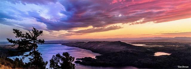 'Drone Captured Sunset'