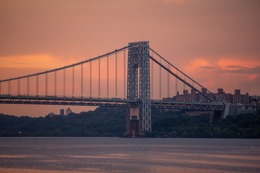 George Washington Bridge Sunset
