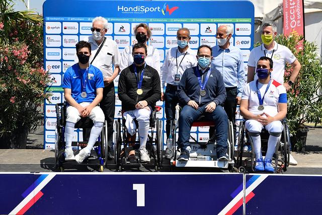 ESCRIME-FAUTEUIL / Championnat de France 2021, Albi