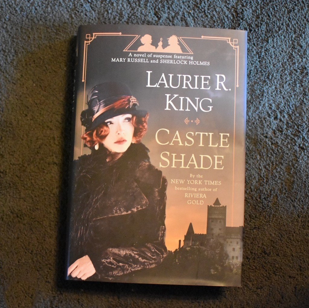2021-06-13 Hurrah!! I bought my new Laurie R King #book! It's called Castle Shade and it's set in Romania! I'm looking forward to #reading it! #books #readingrules #CastleShade #LaurieRKing