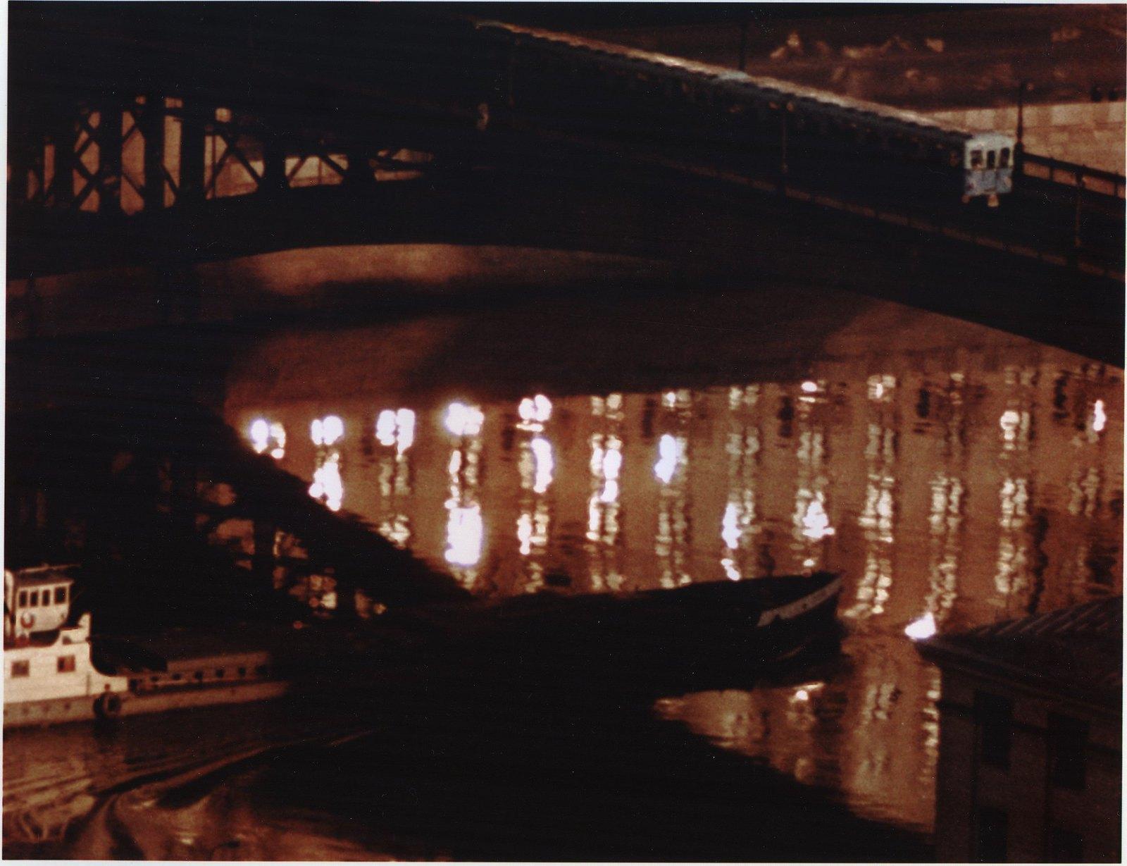 1961. Метромост ночью