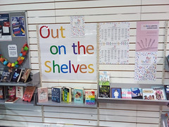 Out on the Shelves Display at Linwood