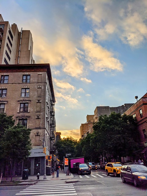 Sunset Clouds, 10th Street