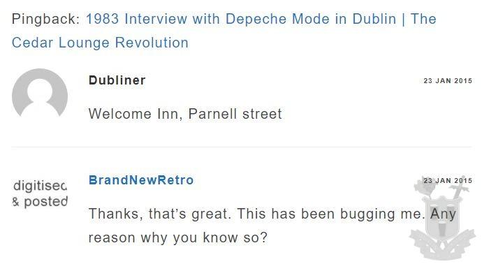 Brand New Retro Comment
