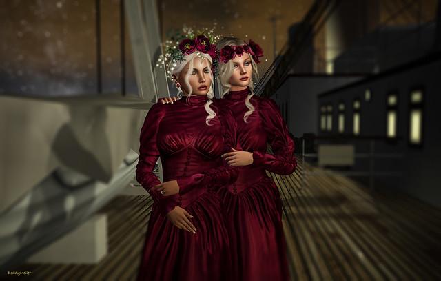 Twins aboard the Titanic
