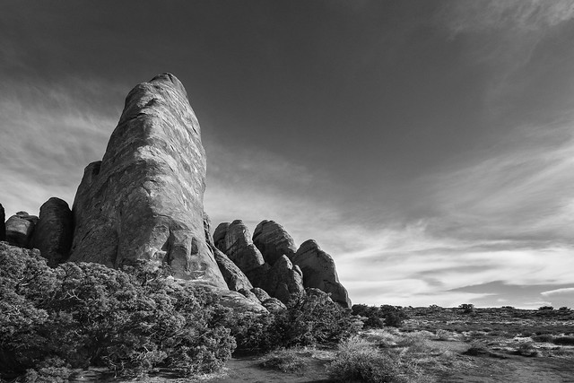 Rising Above It All - Arches National Park