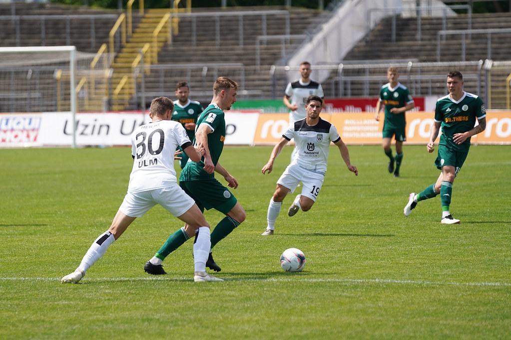 11.06.2021 | Saison 2020/21 | FC 08 Homburg | SSV Ulm 1846 Fußball