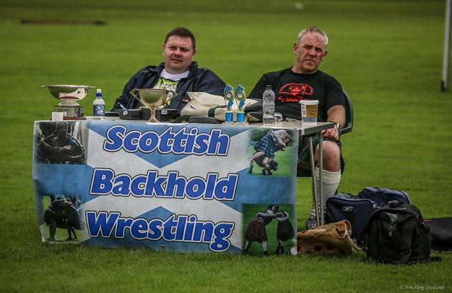 Backhold Wrestling Officials