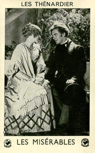 Josseline Gaël and Jean Servais in Les Misérables (1934)