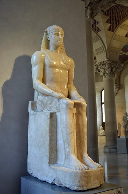 2020.08.06.181 PARIS - Musée du LOUVRE - Horus dit Horus Albani (époque Ramsès II - 1279 av. JC)