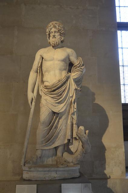 2020.08.06.180 PARIS - Musée du LOUVRE - Esculape (Italie 2° siècle)