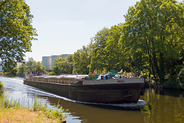 Berlin Teltowkanal Ardo Binnenschiff 14.6.2021