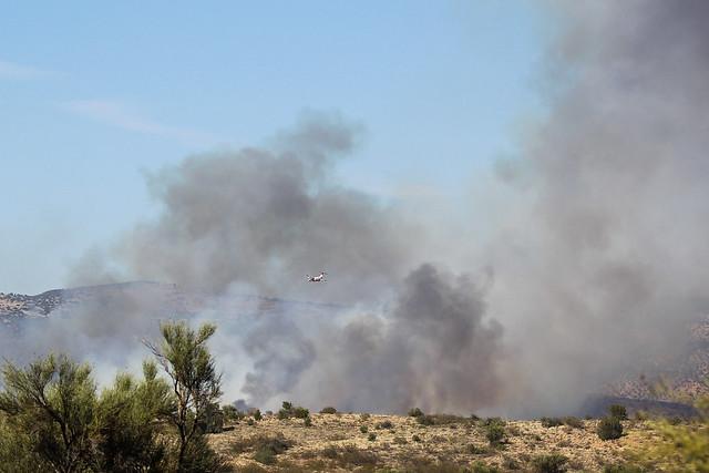 Cornville, AZ fire / 13 June 2021