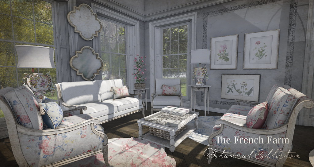 The French Farm-Botanical Collection Ad