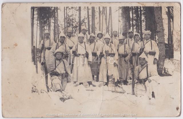 GERMAN SNOWTROOPERS PATROL