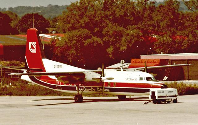G-IOMA : Fokker F-27-100 Friendship