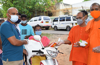 Corona second wave outbreak relief work