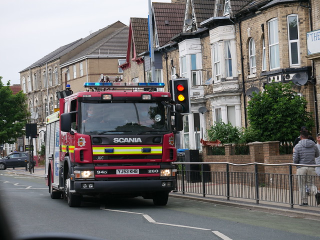 [RARE] Humberside Fire & Rescue Driver Trainer YJ53 KHB