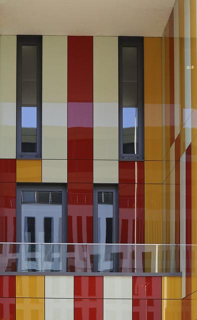 multicolor facade