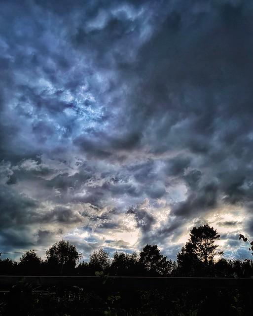 Turbulent atmosphere