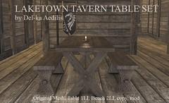 Laketown Tavern Table Set