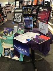 Matariki display, Ōrauwhata: Bishopdale Library and Community Centre