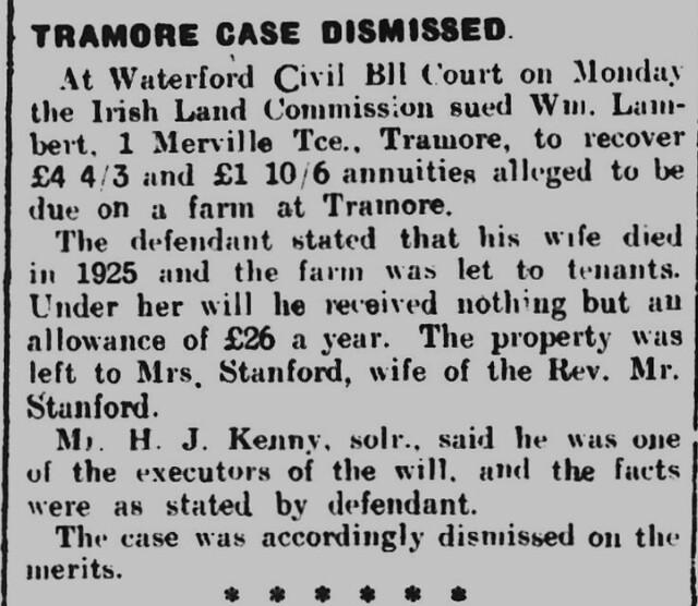 Waterford Standard - Saturday 31 August 1929