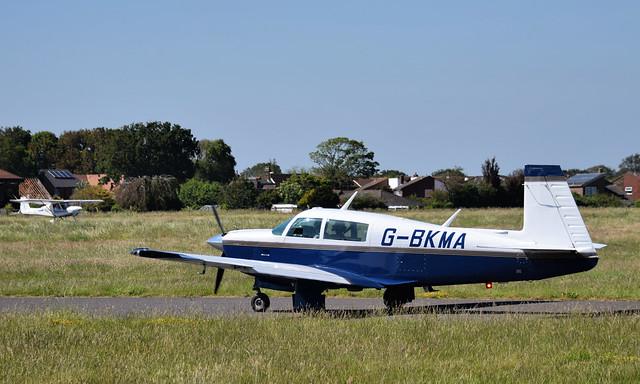 G-BKMA at Solent Airport - 13 June 2021