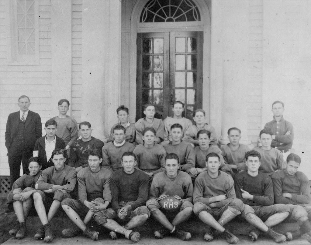 Ruple High School Football Team, 1929